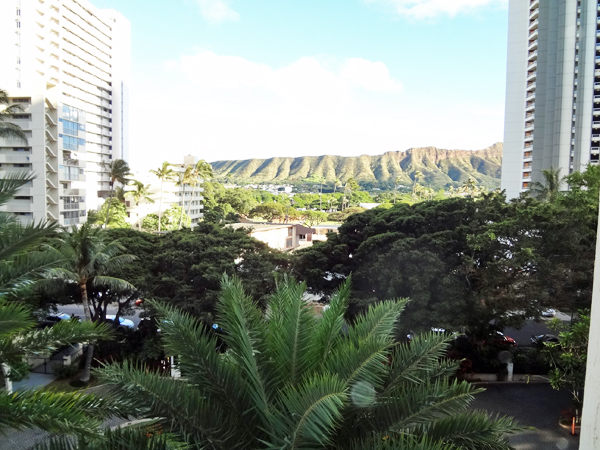 honu view of diamondhead